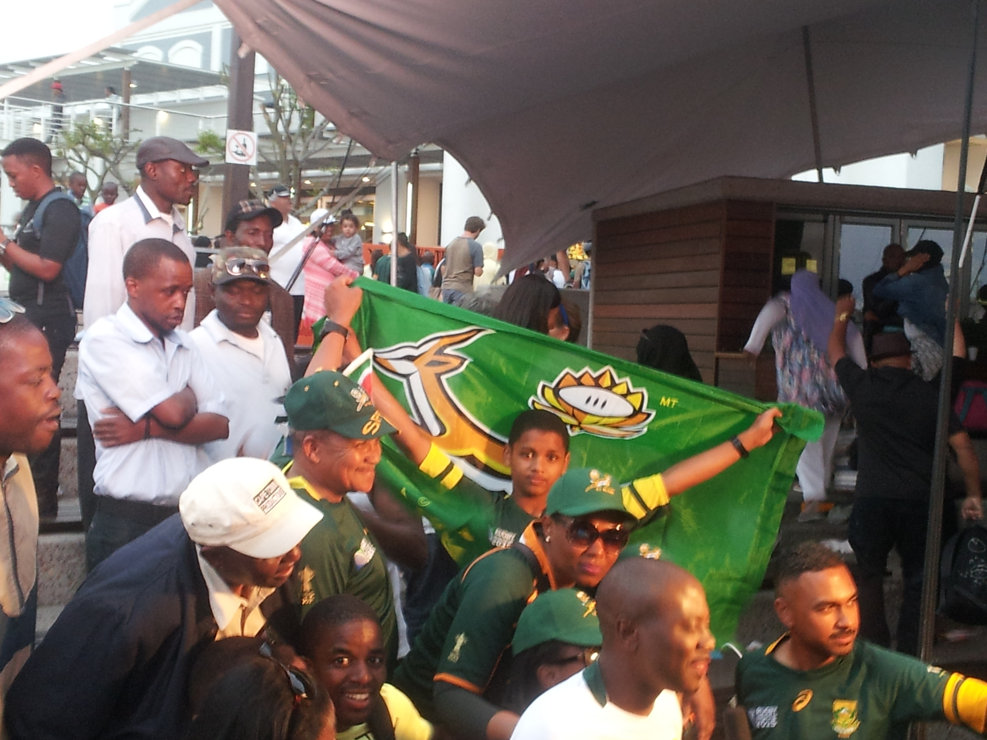 Un match des Springboks en Afrique du Sud