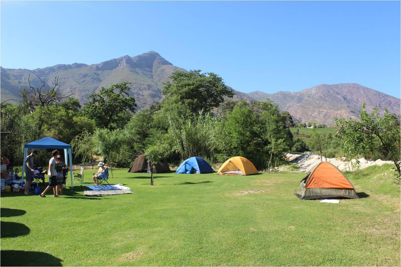 Camper en Afrique du Sud